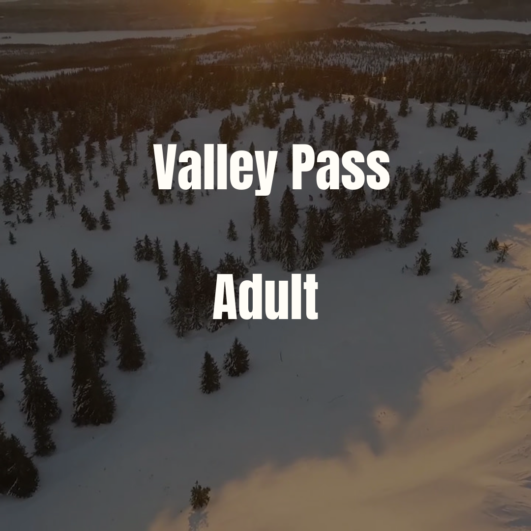 Adult Valley Pass