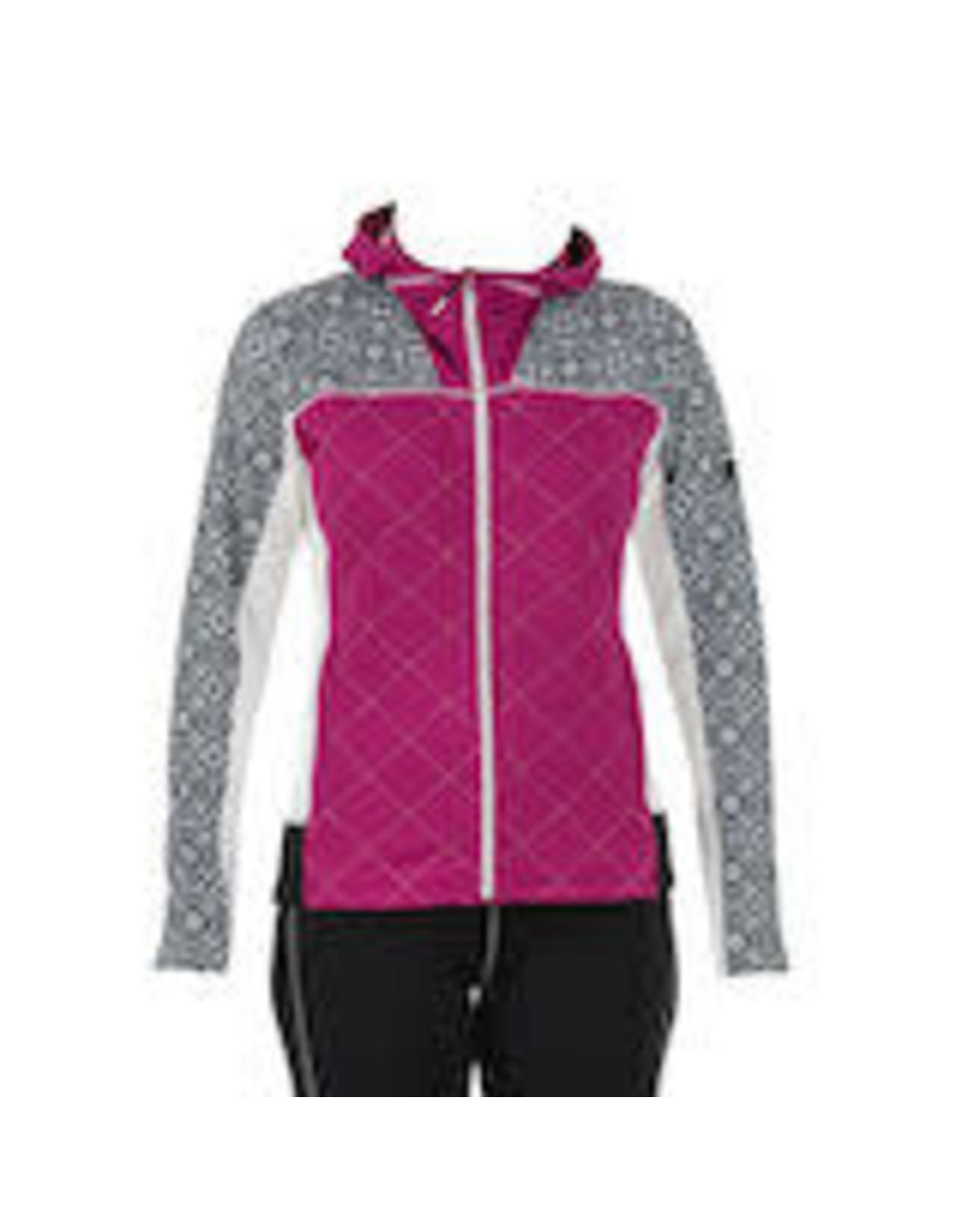 Swix Myrene Women's Full Zip Quilted Midlayer M (90800) Raspberry