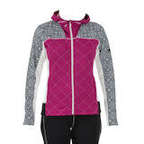 Swix Myrene Women's Full Zip Quilted Midlayer M (90800) Raspberry