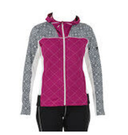 Swix Myrene Women's Full Zip Quilted Midlayer S (90800) Raspberry