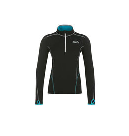Swix Myrene Women's 1/2 zip Midlayer M (10000) Black
