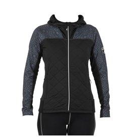 Swix Myrene Women's Full Zip Quilted Midlayer M (10000) Black