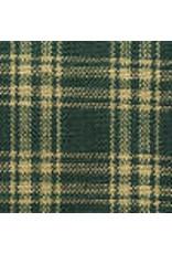 Yd. Green and Tan Catawba Fabric #41