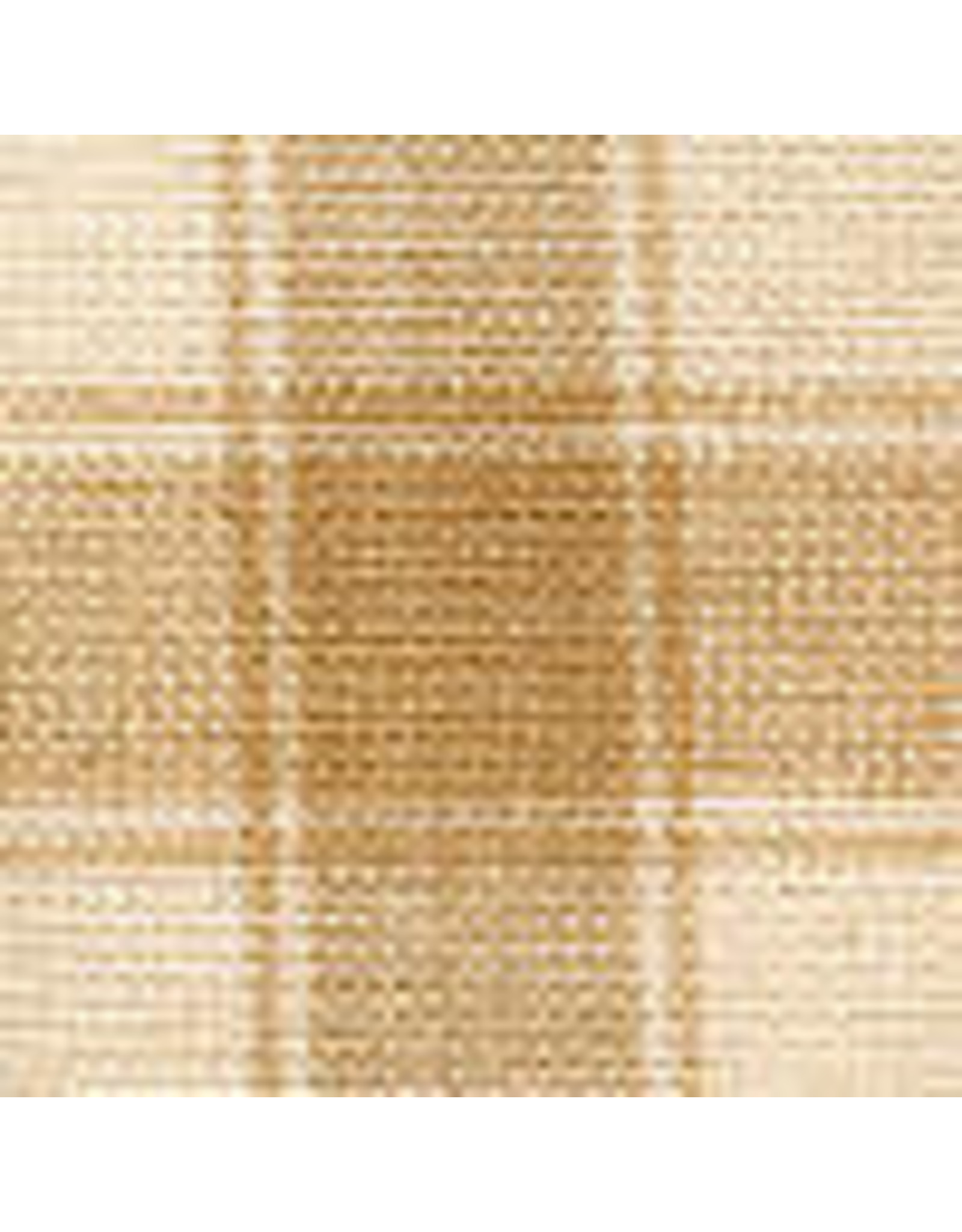 Yd. Wheat and Cream House Check Fabric #84
