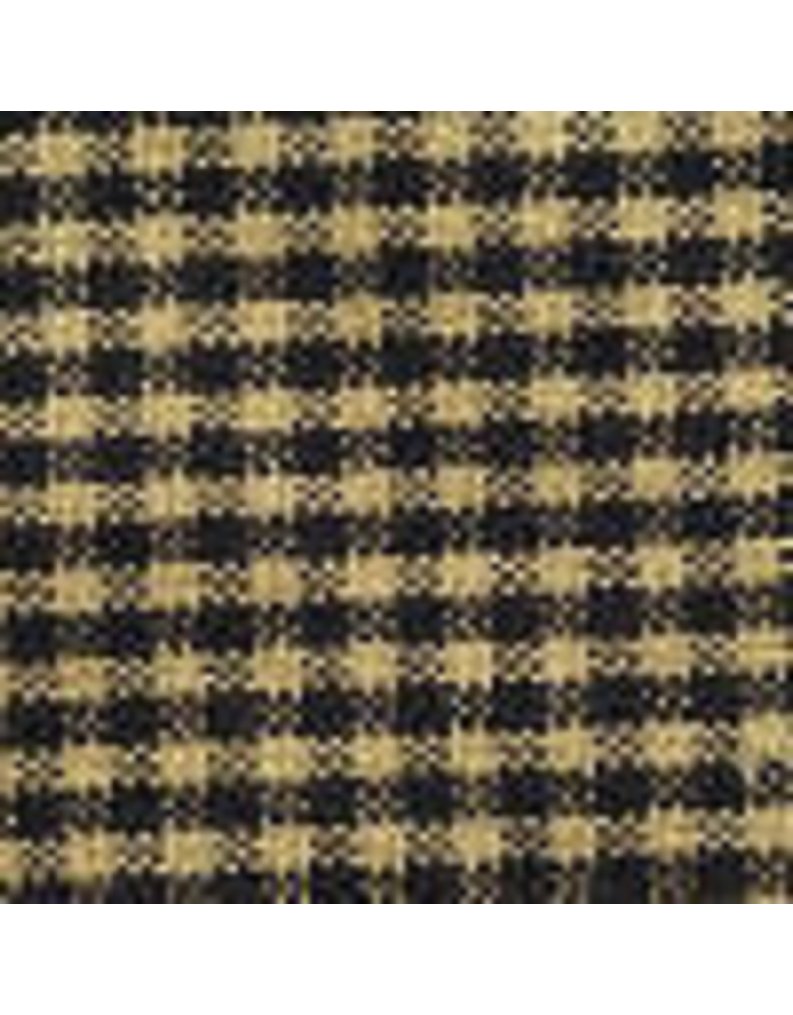 Yd. Black and Tan Mini Check Fabric #53