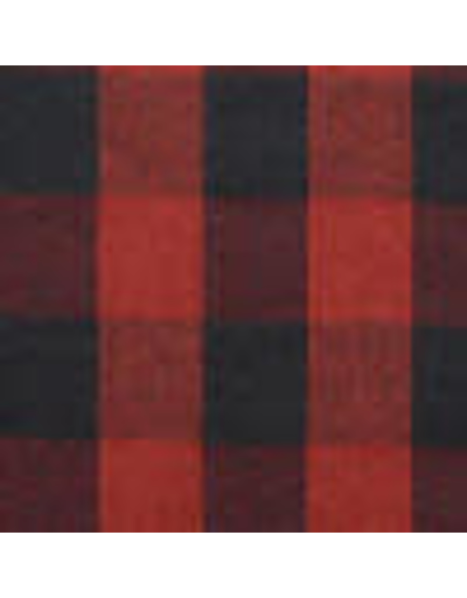 Yd. Red and Black Buffalo Check Fabric #690
