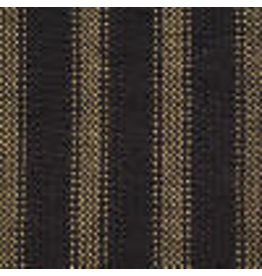 Yd. Navy and Tan Dark Ticking Fabric #27