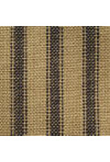 Yd. Navy and Tan Ticking Fabric #26