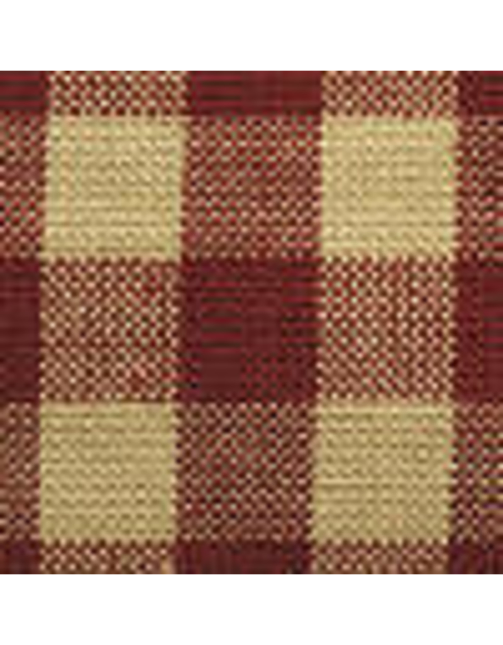 Yd. Red and Tan Small Check #32