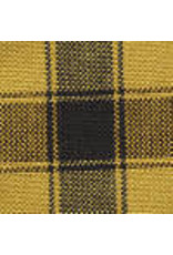 Yd. Mustard and Black House Check Fabric #74