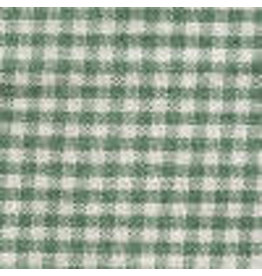 Yd. Green and White Mini Check Fabric #4403