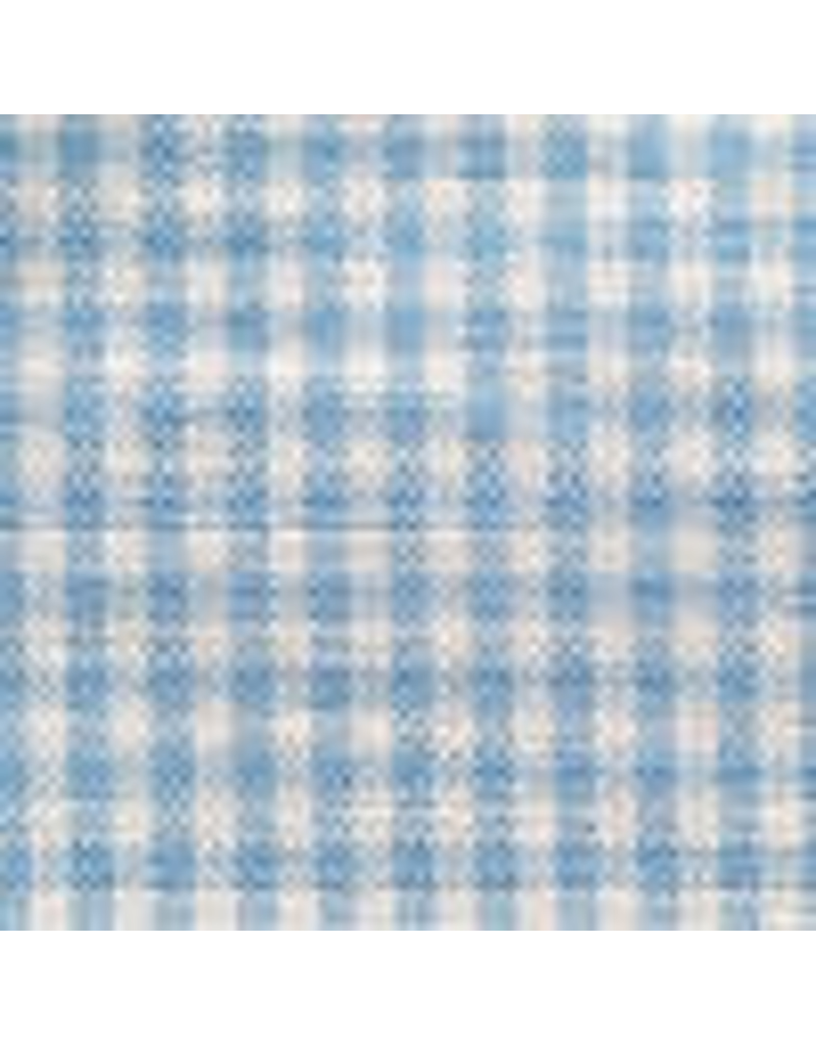 Yd. Blue and White Mini Check Fabric #4203