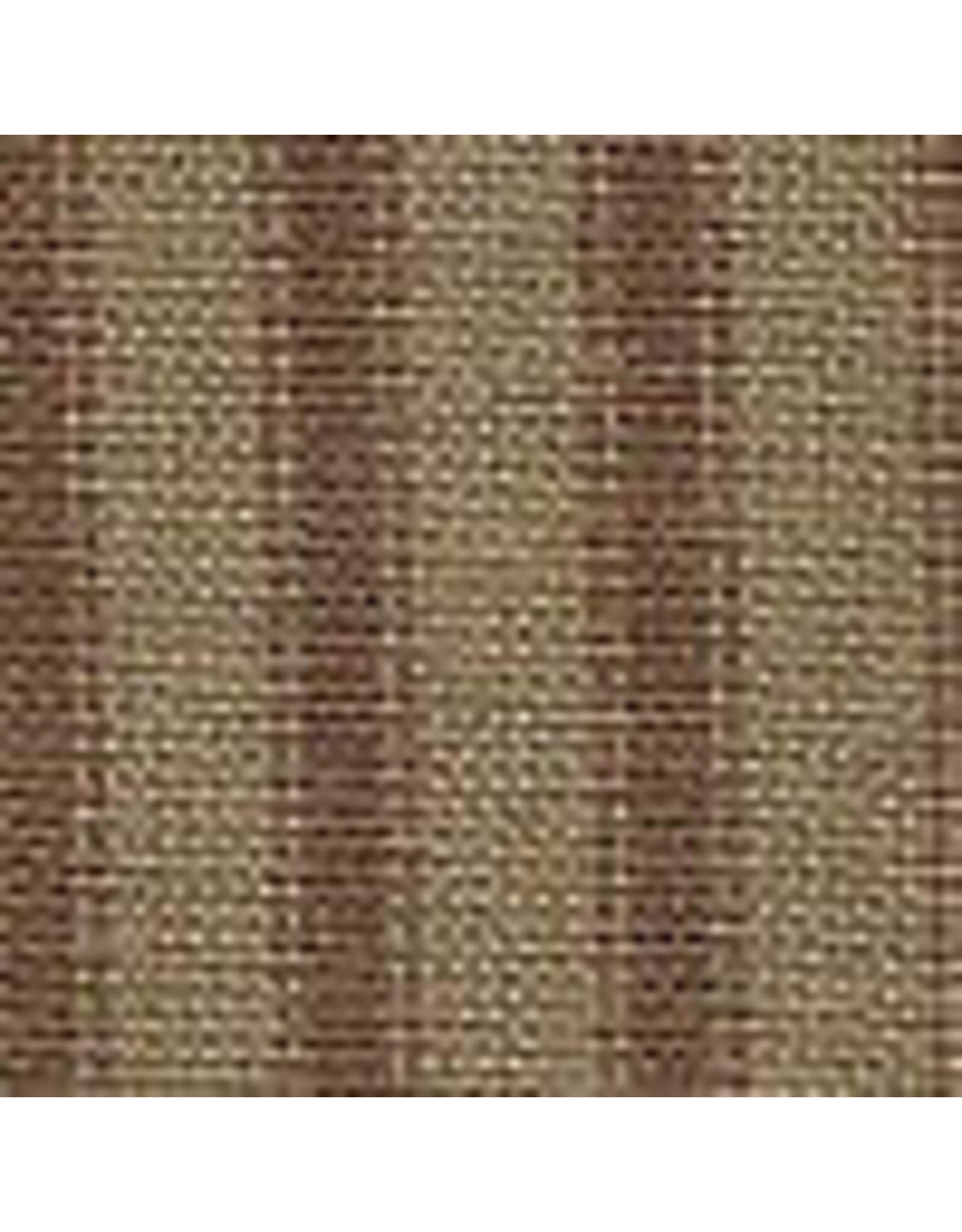 Yd. Brown and Tan Ticking Stripe Fabric #96