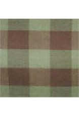 Yd. Brown and Tan Buffalo Check Fabric #990