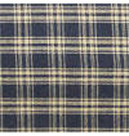 Yd. Black and Tan Catawba Fabric #51