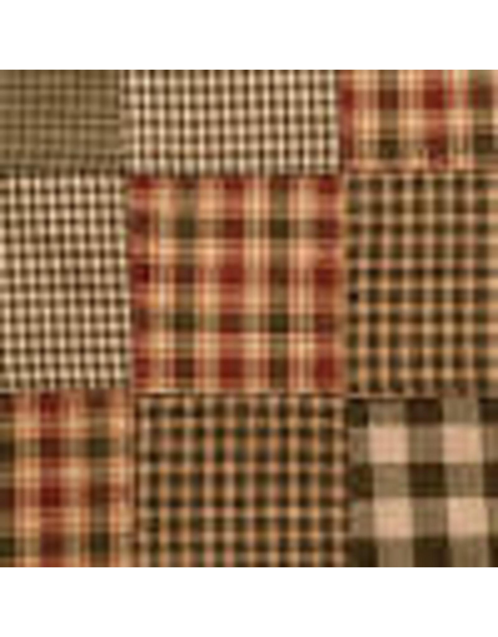 Yd. Sage Patchwork Fabric #p11