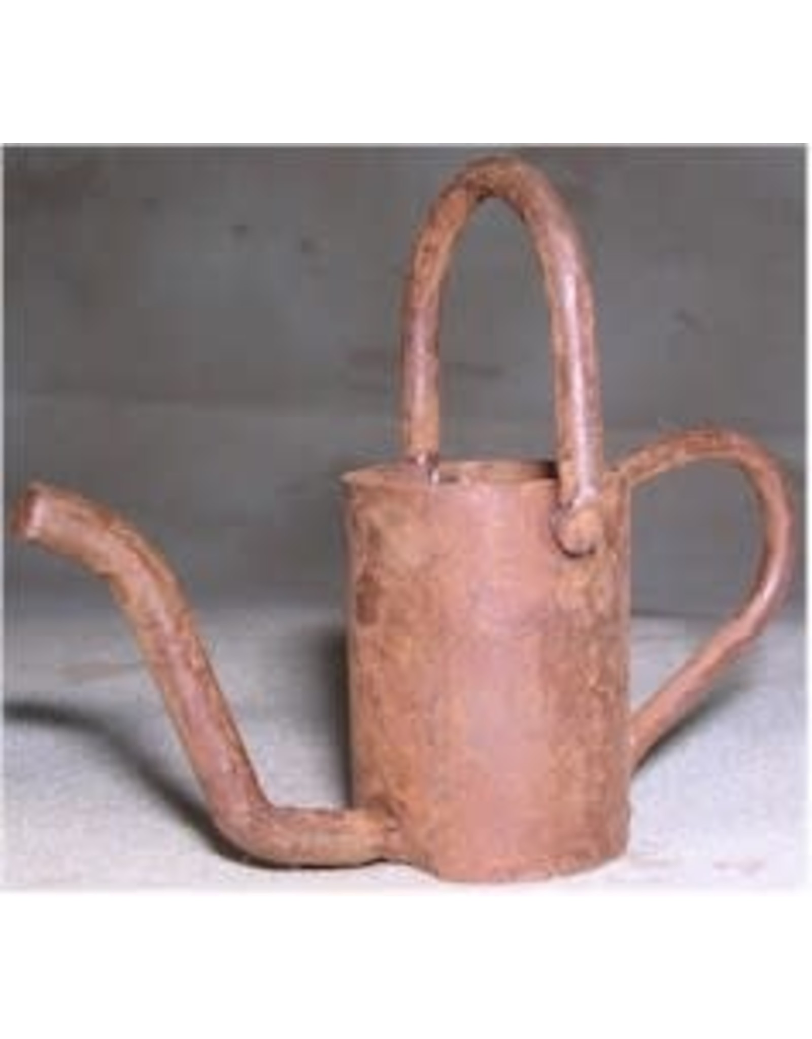 """RUSTY WATERING CAN 2 1/2"""" x 3"""" PACKAGED 12"""