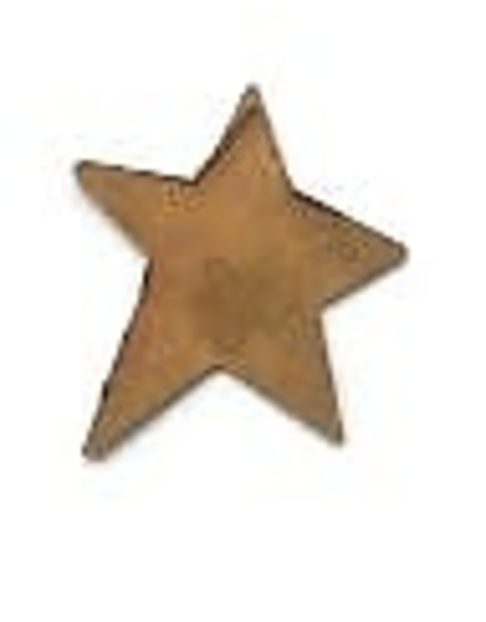 """RUSTY TIN STAR 3/4"""" (NO HOLE) PACKAGED 12"""