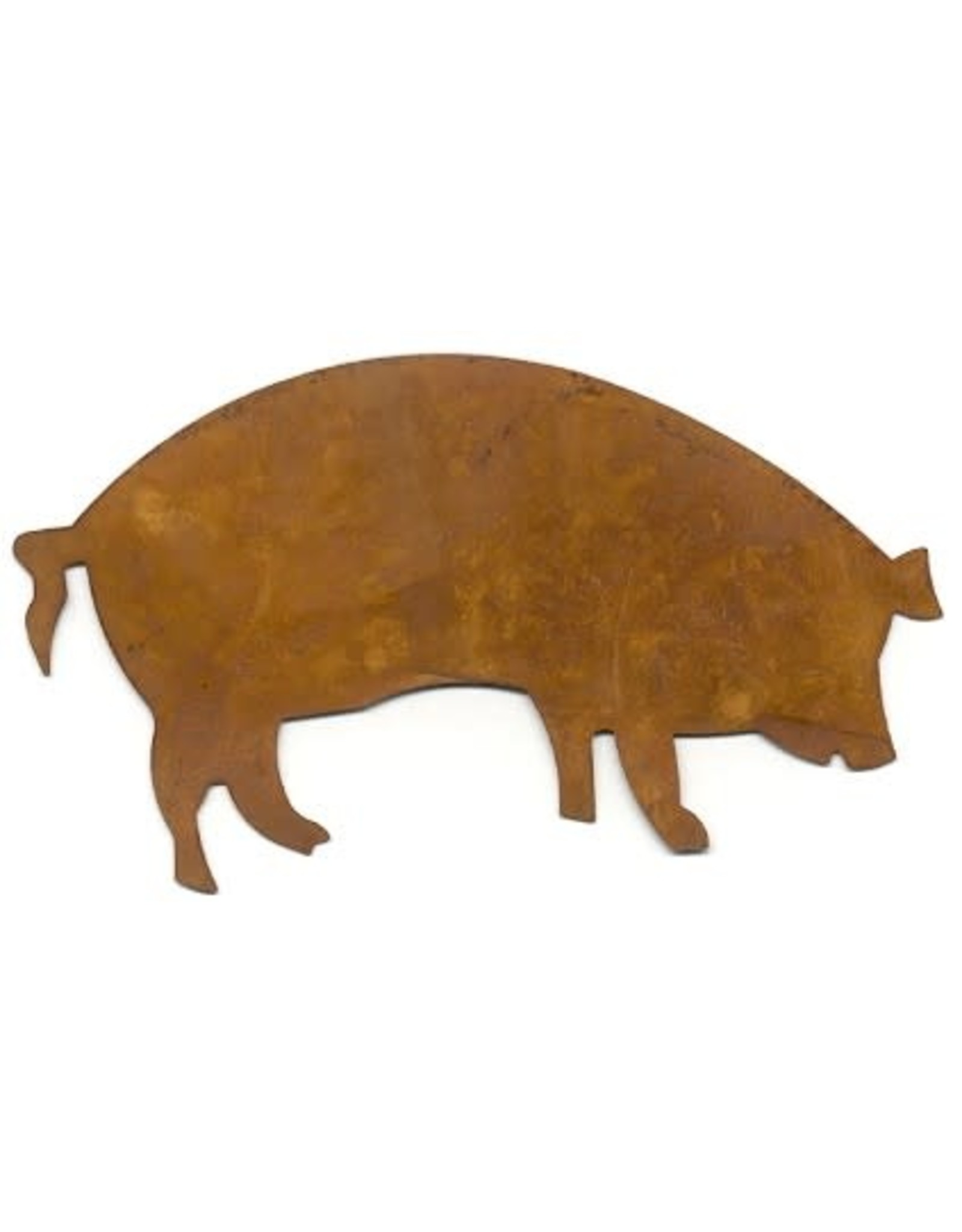 """RUSTY PIG 4"""" (NO HOLE) PACKAGED 12"""