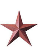 "RUSTY BARN STAR  5.5"""