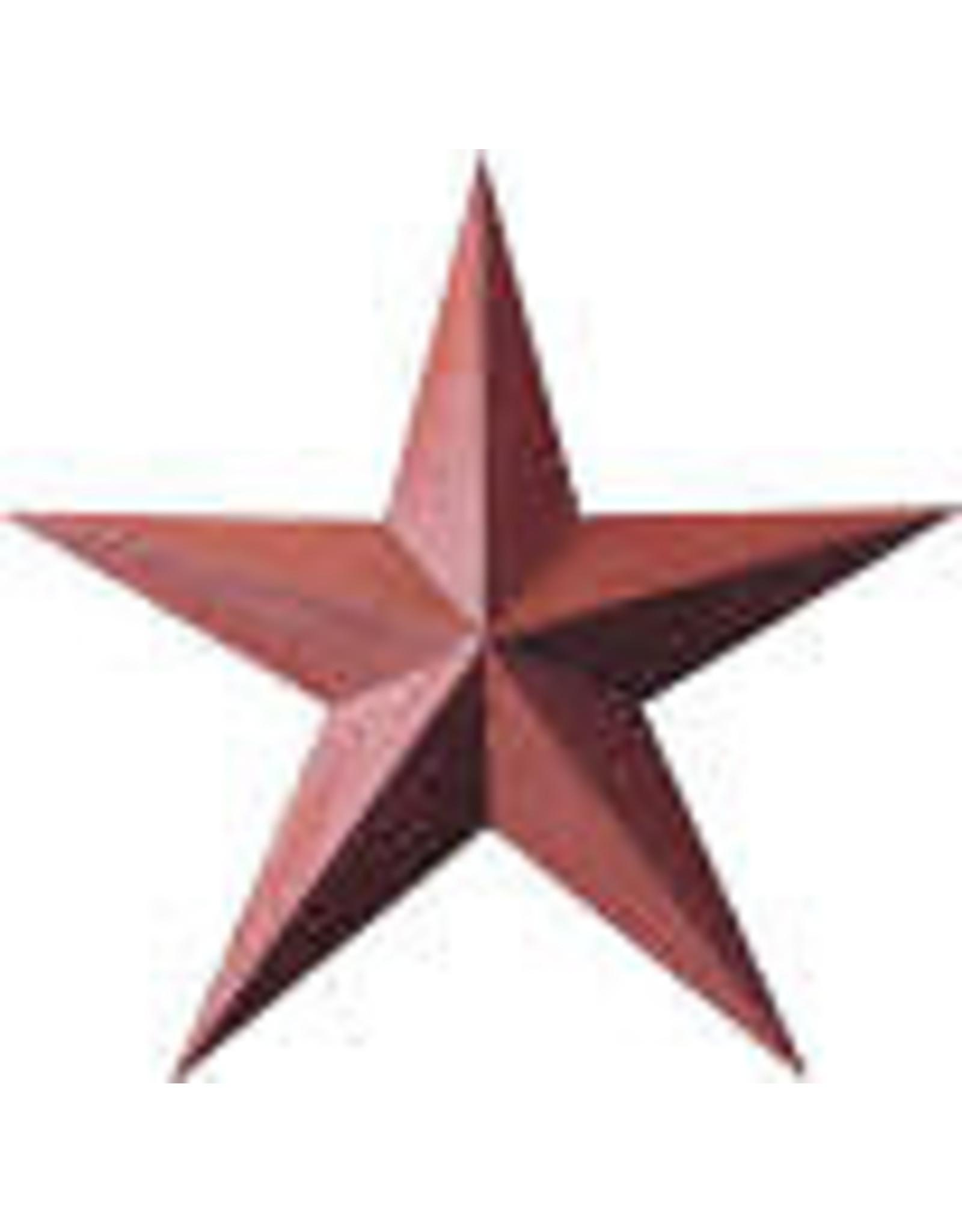 "RUSTY BARN STAR 18"""