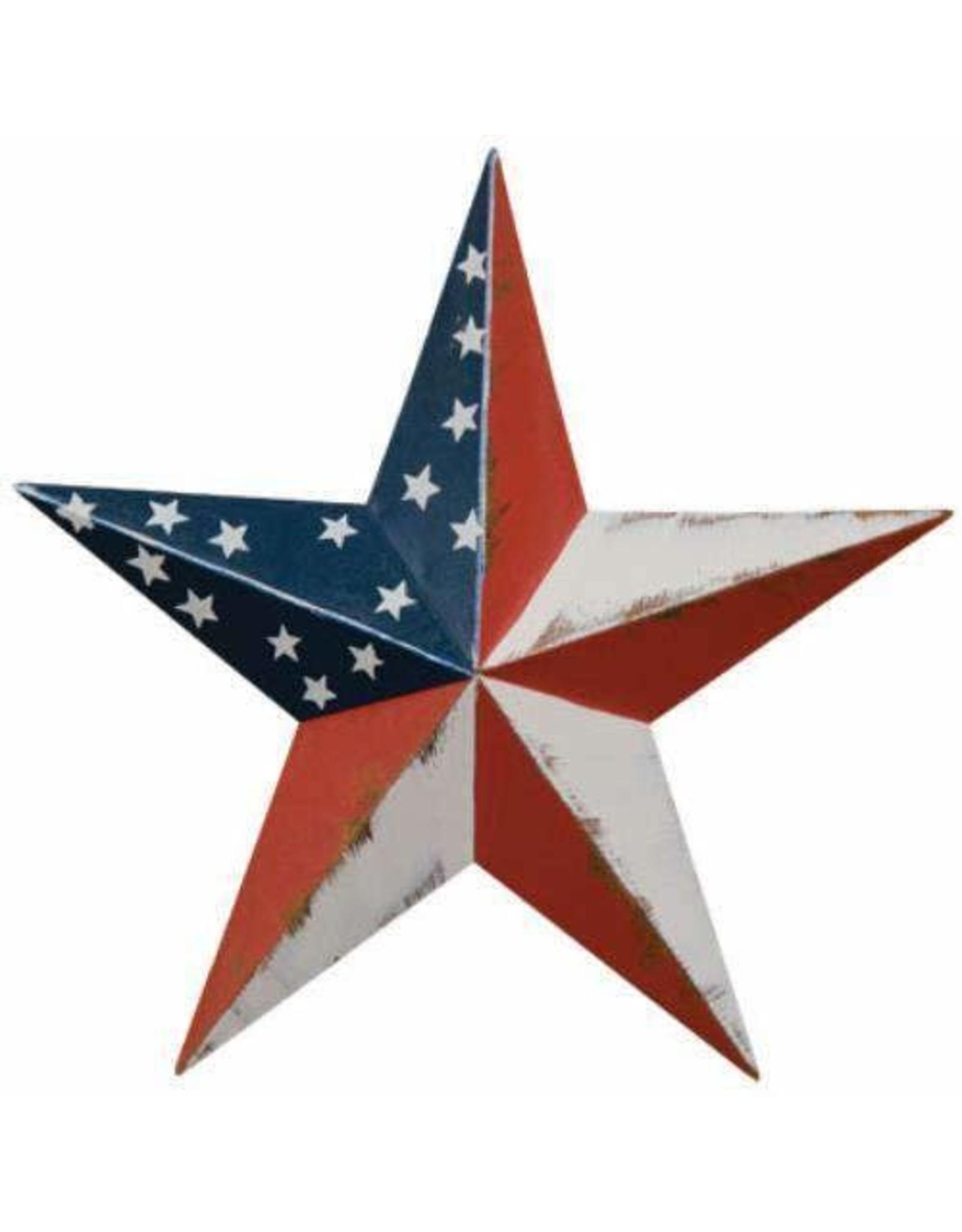 "AMERICANA RUSTY BARN STAR 8"""