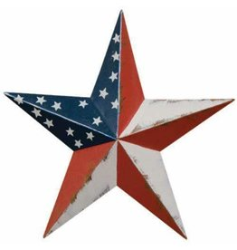 "AMERICANA RUSTY BARN STAR 12"""