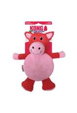 KONG CRACKLE TUMMIEZ PIG LG (PINK)