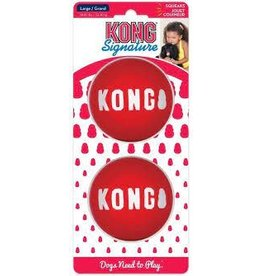 KONG SIGNATURE BALLS RED LARGE
