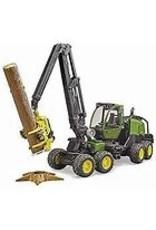 Bruder 09823 John Deere Harvester 1270 G with Trunk