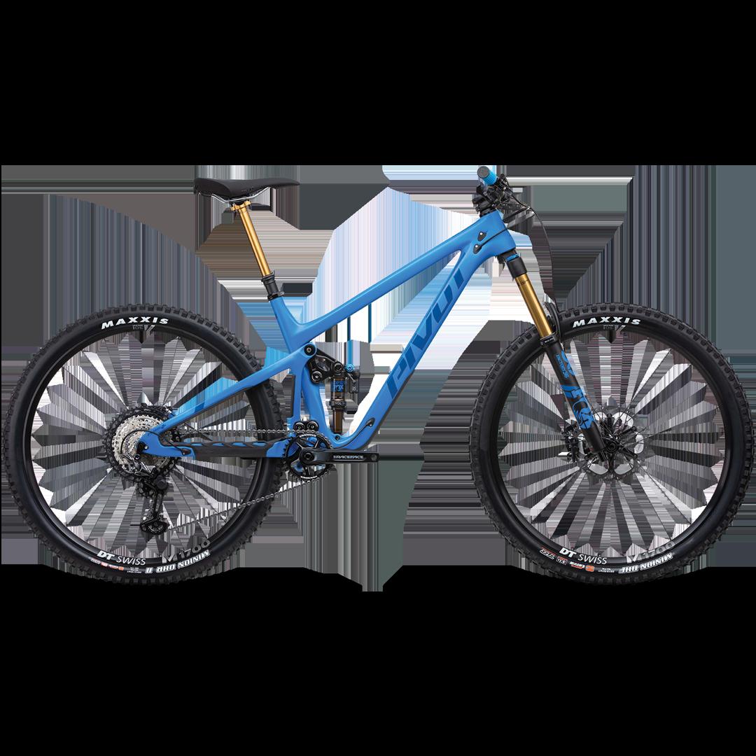 "Vélo Pivot Switchblade Carbone Pro XT Bleu 29""-1"