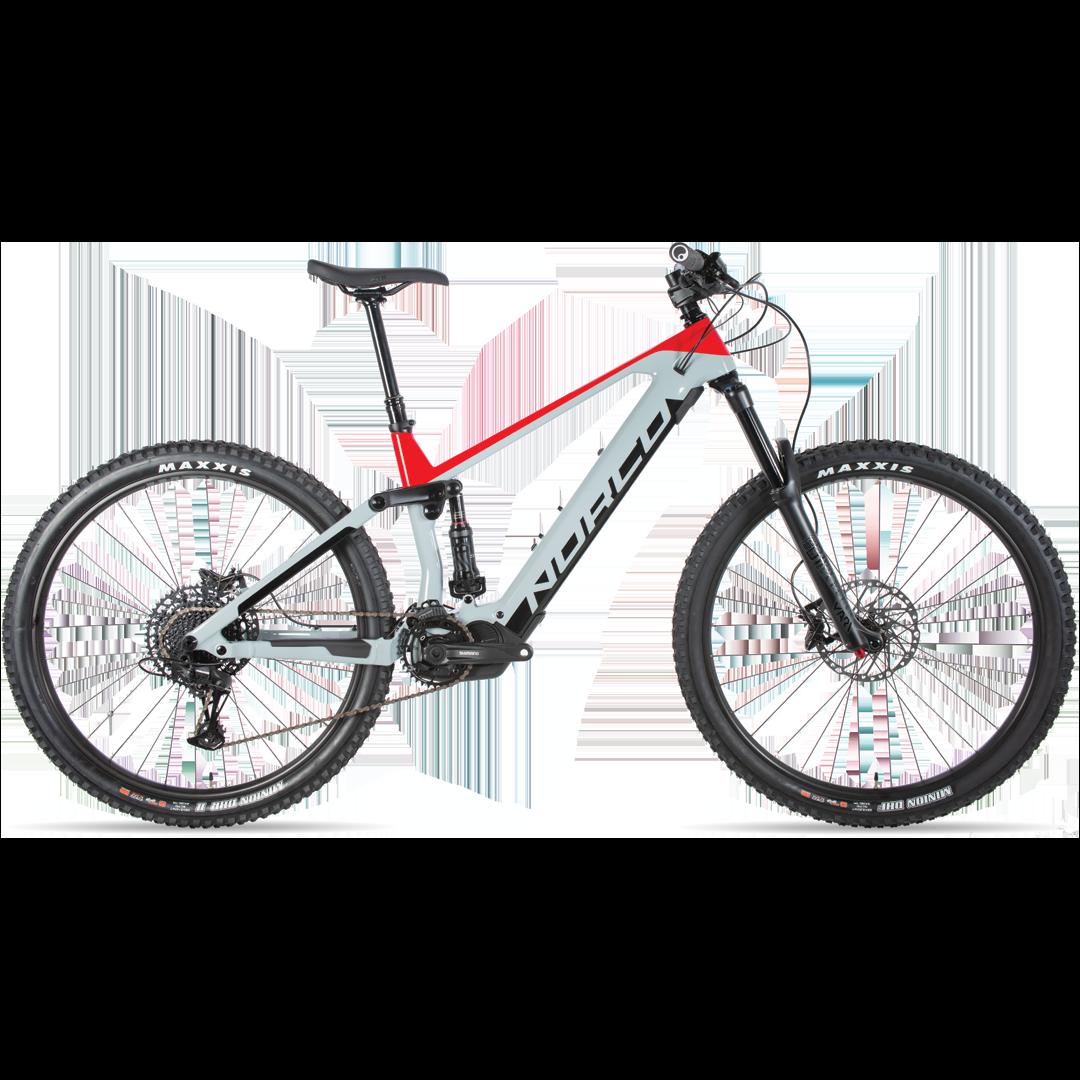 Vélo Norco Sight Vlt C3 Gris/Rouge 29''-1