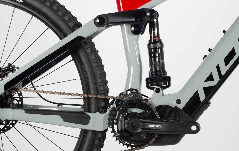 Vélo Norco Sight Vlt C3 Gris/Rouge 29''-3