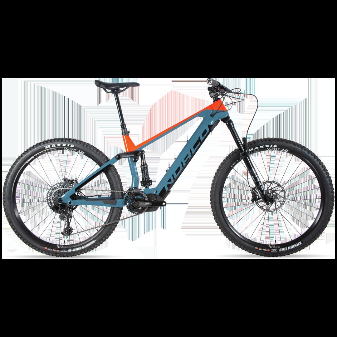 Vélo Norco Sight Vlt C1 Bleu/Orange 29''-1