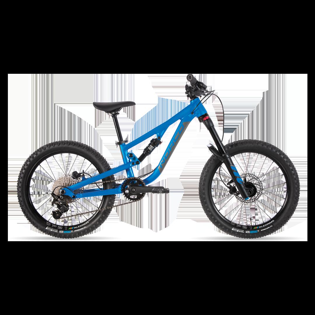 Vélo Norco Fluid FS 2.2 Bleu/Charbon - 20''-1