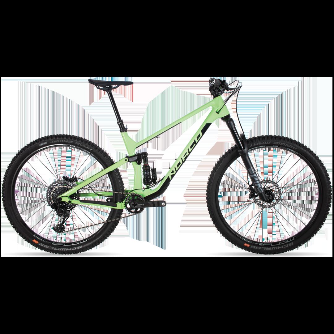 Vélo Norco Optic C2 Vert/Noir 29''-1