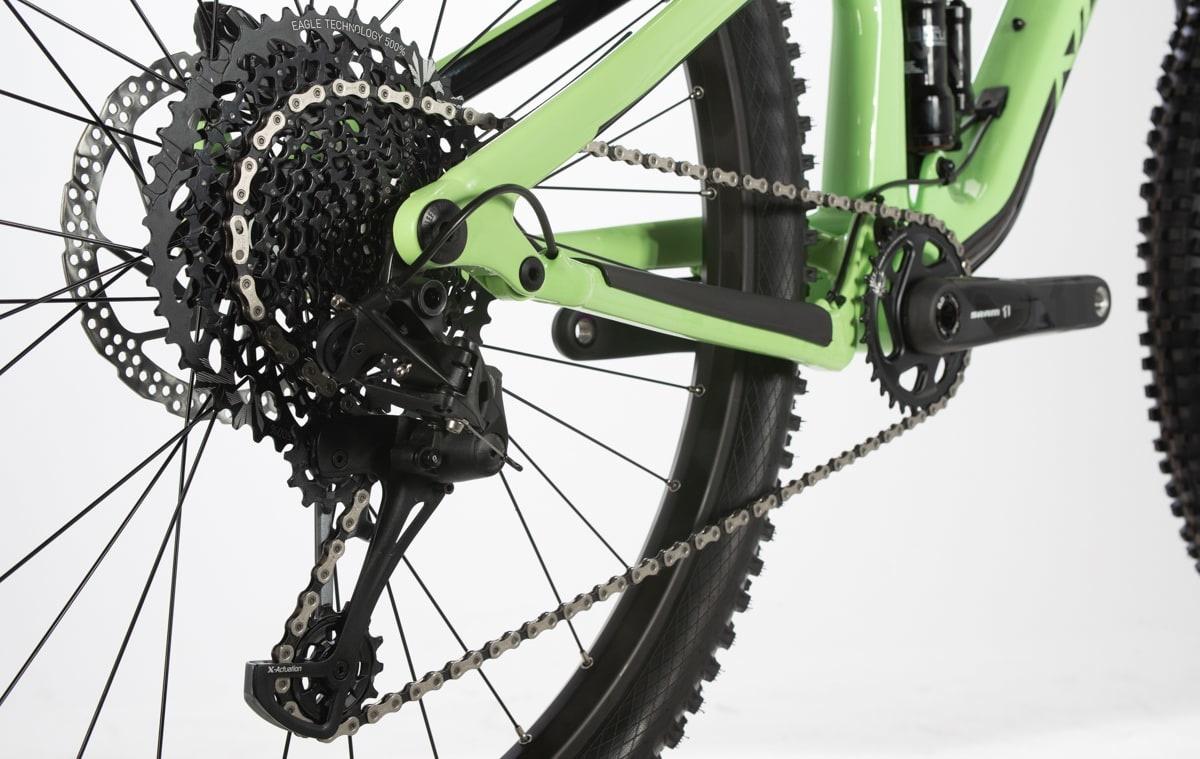 Vélo Norco Optic C2 Vert/Noir 29''-5