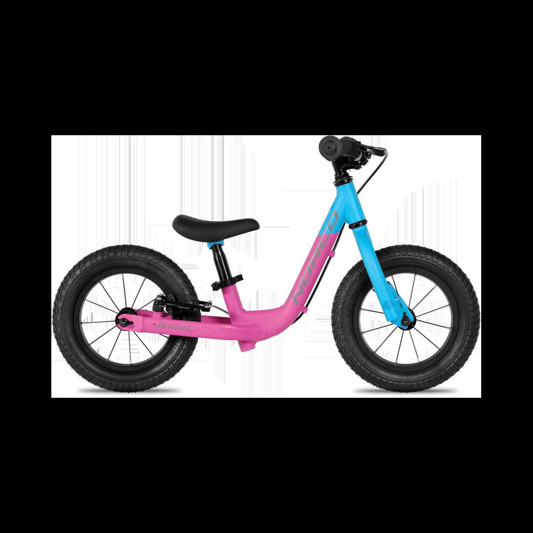 Vélo Junior Norco Mermaid Runbike Cyan/Fuschia/Noir - 12''-1