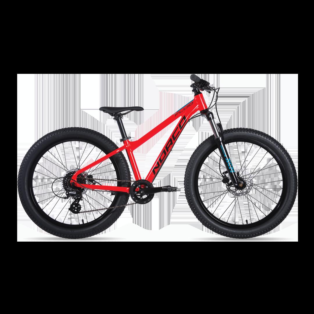 Vélo Norco Fluid 4.3 Ht Plus Rouge - 24''-1