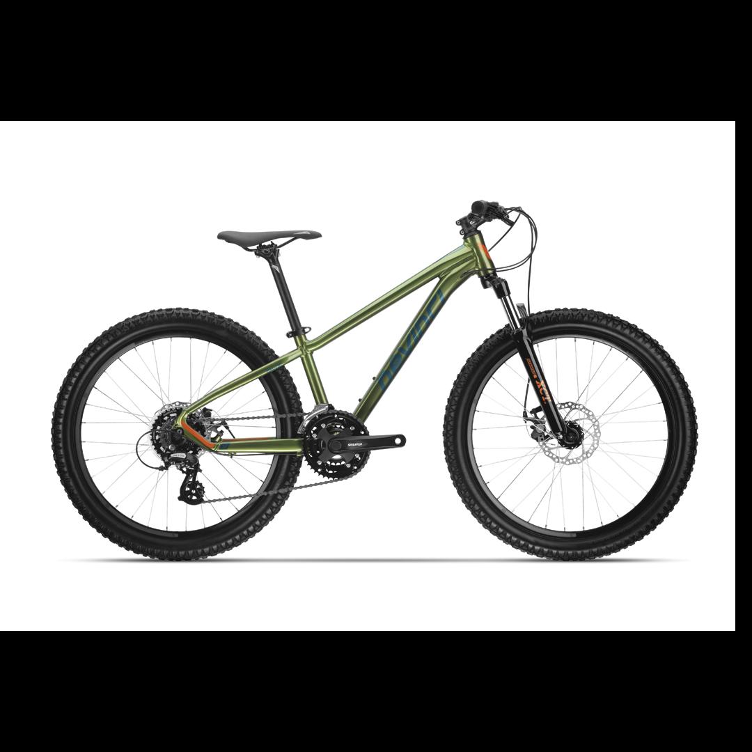 """Vélo Devinci Ewoc Vert Cotto - 24""""-1"""