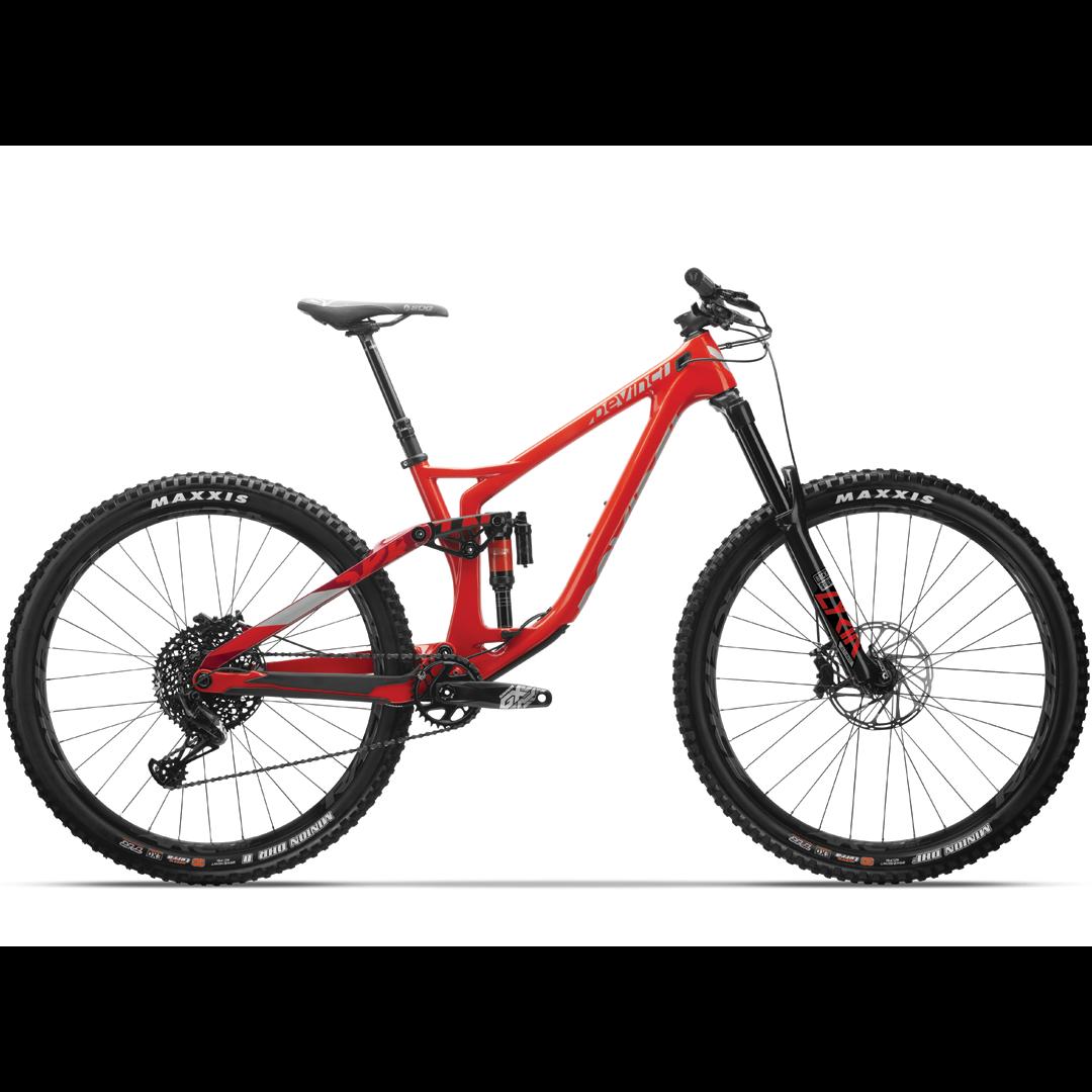 Vélo Devinci Spartan Carbone Gx 12-Vit. Rouge - Medium-1