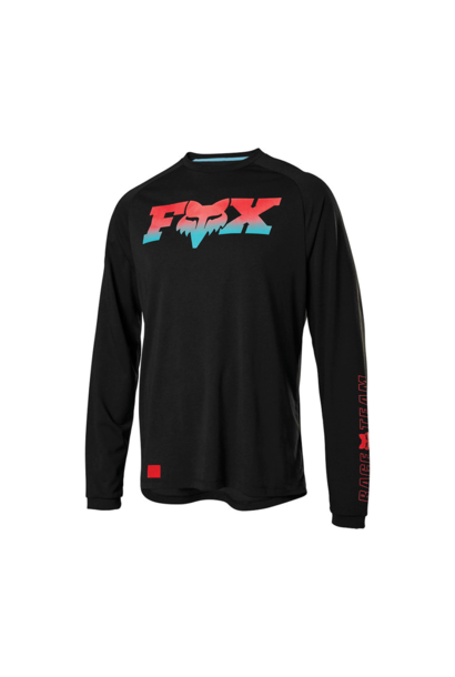 Jersey Fox Ranger Dryrelease LS  Fox head Black