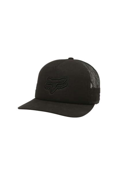 Hat Fox Head Trik Trucker Black