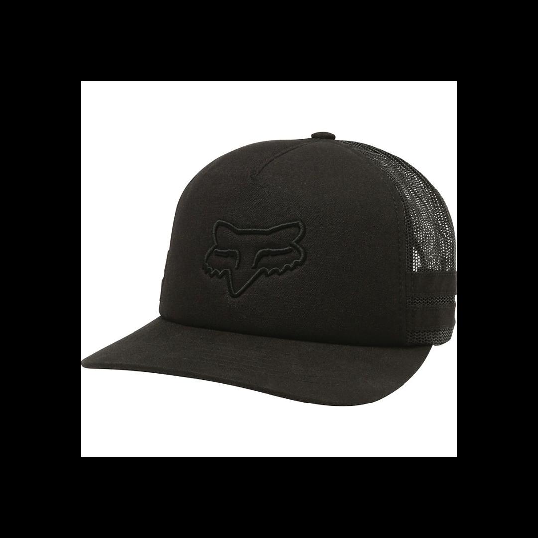 Hat Fox Head Trik Trucker Black-1