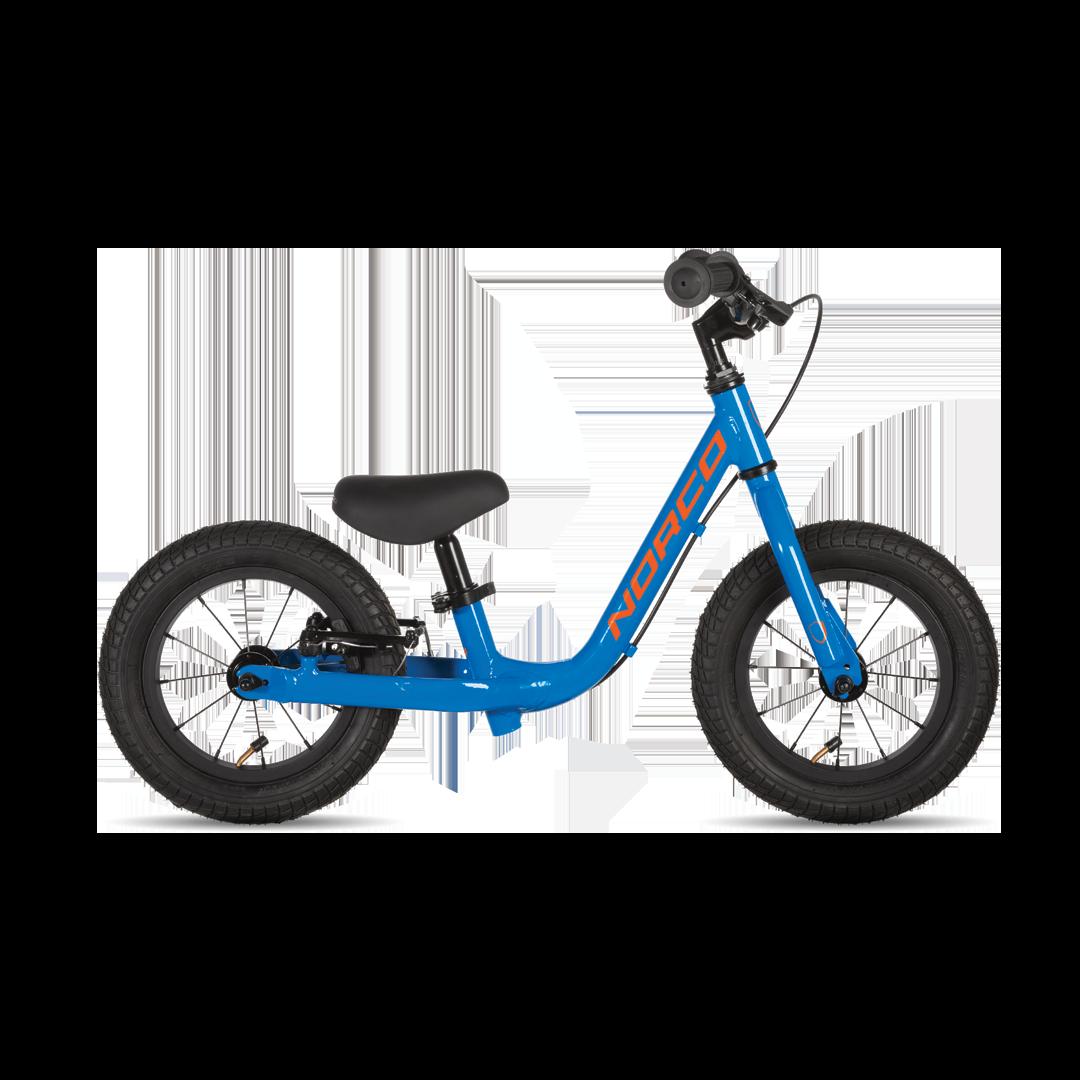 """Vélo Norco Runner 12 Bleu/Orange 12""""-1"""