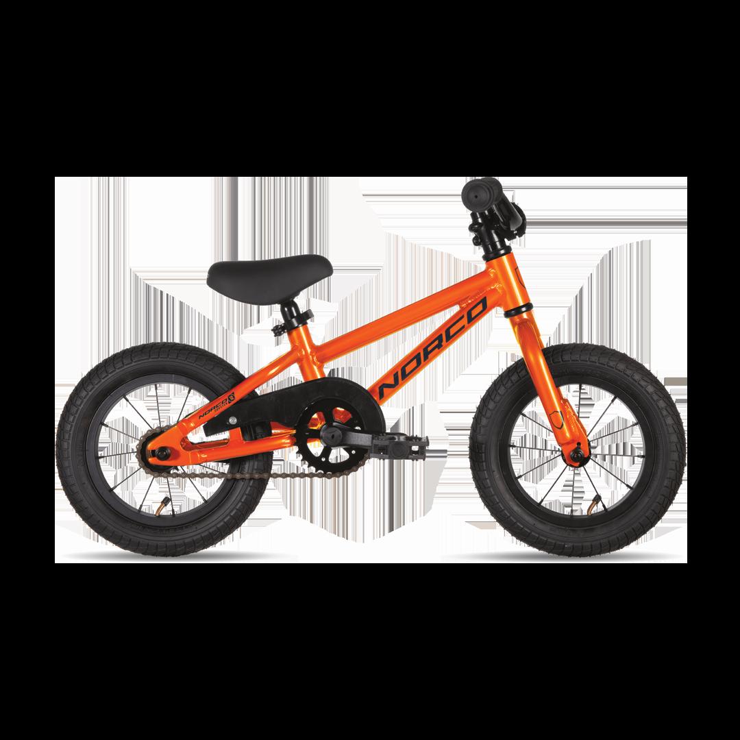 """Vélo Norco Coaster 12 Orange/Bleu 12""""-1"""