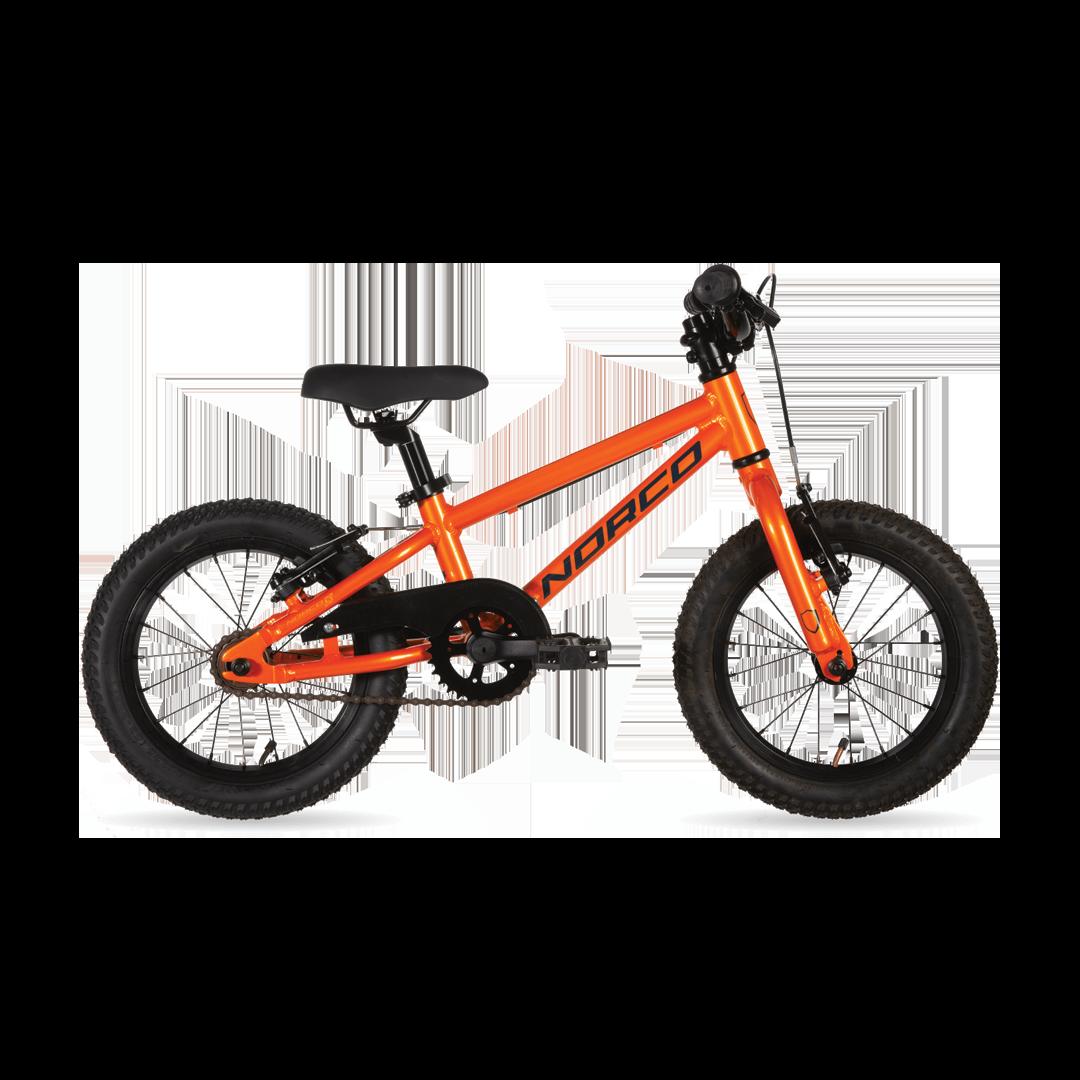 """Vélo Norco Roller 14 Orange/Bleu 14""""-1"""