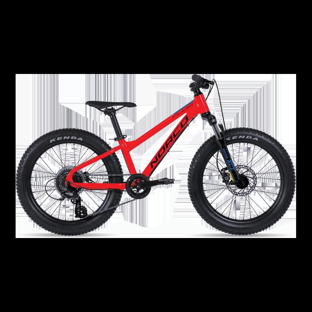 """Vélo Norco Fluid Ht Plus 2.3 Rouge 20""""-1"""