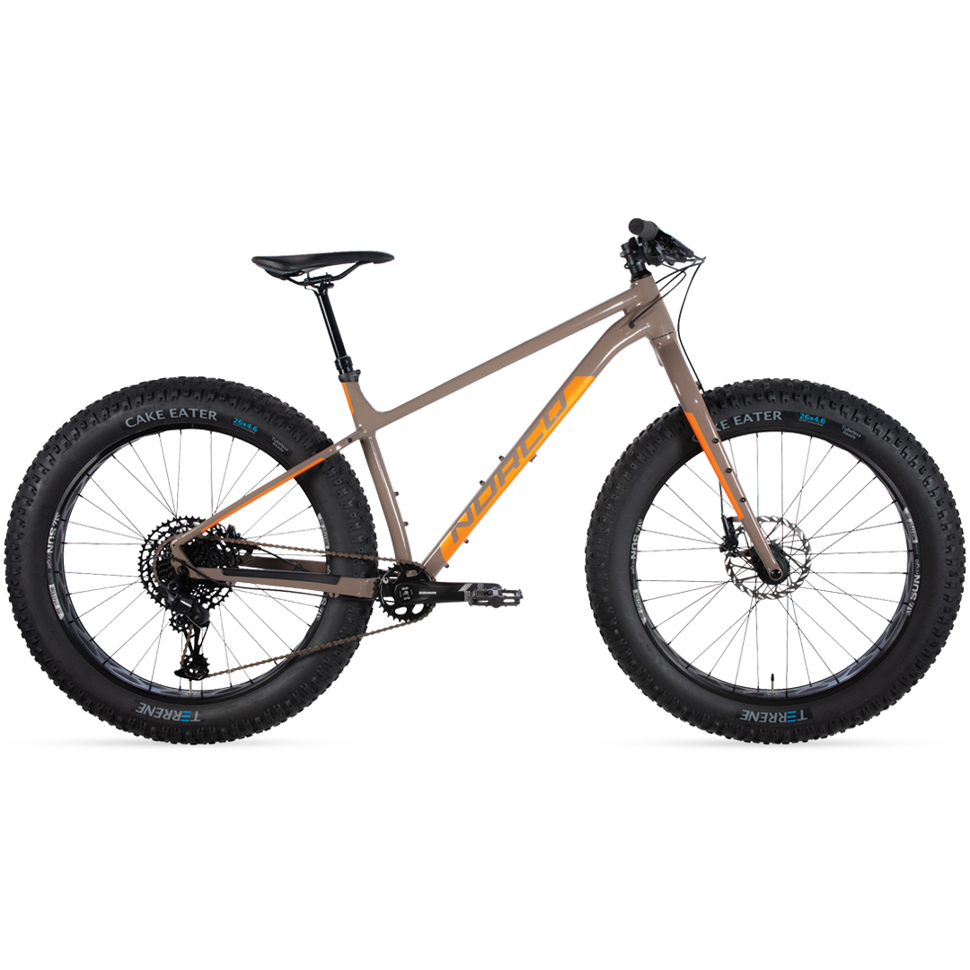 Fatbike Norco Bigfoot 2 Gris/Orange - Small 26''-1
