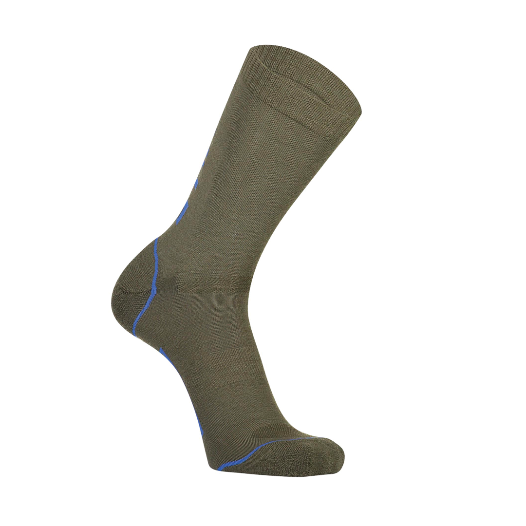 Bas Mons Royale Mens Tech Bike Sock 2.0 Olive-1